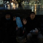 Queuing for iPad 2 - hello Japanese friends
