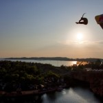 red bull cliff diving athens