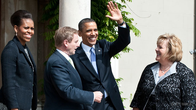 obama vs ramp ireland