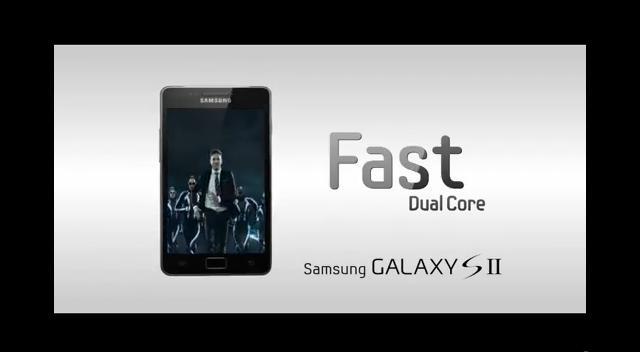 Samsung galaxy s ii tv ad