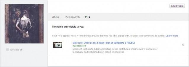 google account profile