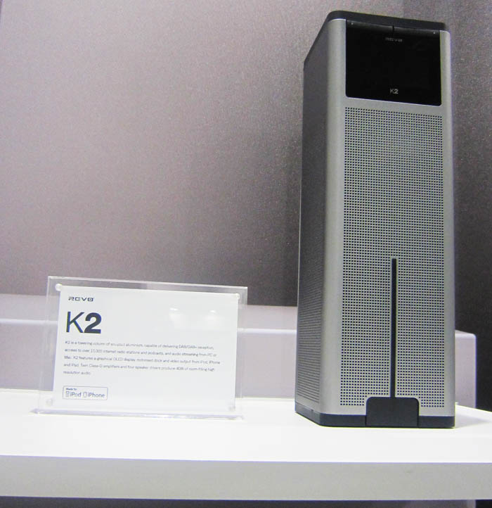 Revo K2 @ IFA 2011: Ξανασχεδιάζοντας τα Apple dock radios