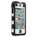 BALLISTIC - HC Series for Apple iPhone 4  4S  Black  White