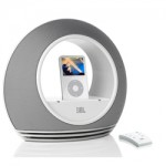 JBL Sounddock Radial micro for Apple iPod iPhone white