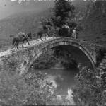 Το γεφύρι της Γκούμανης Θεσπρωτίας, 1913
