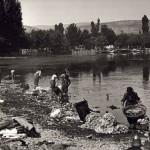 Ιωάννινα, Λίμνη, πλύσιμο ρούχων 1913