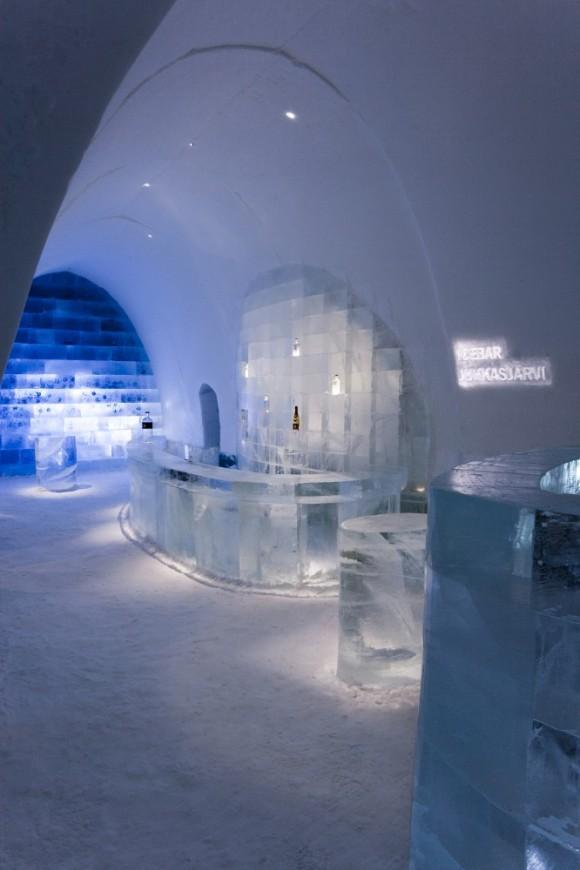 Το μεγαλύτερο ξενοδοχείο από πάγο στον κόσμο
