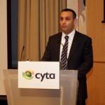 ο Αντιπρόεδρος του Συμβουλίου της Cyta κ. Λοΐζος Παπαχαραλάμπους