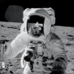 Buzz Aldrin shot by Neil Armstrong