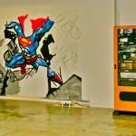 Calvin, Superman and Vending Machine