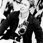 David Bowie with a Hasselblad