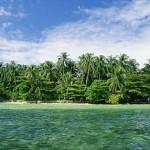 Coastline of Bocas del Toro
