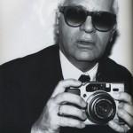 Karl Lagerfeld with a Fujifilm GA645Zi