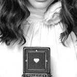 Natalie Portman and a Rolleiflex