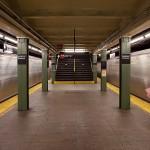 Williamsburg Brooklyn at the Bedford Subway stop