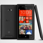 HTC_WP 8X by HTC Graphite Black 3views GREEK