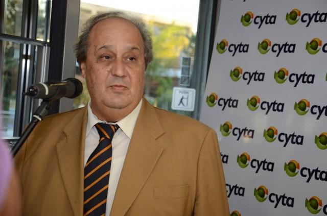 ο Πρόεδρος της Cyta κ. Στάθης Κιττής