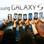 Samsung Galaxy S 100 millions sales