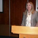 H κα Μαρία Κυριακού από το Δικηγορικό Οίκο Ανδρέας Νεοκλέους & Σία ΔΕΠΕ που εκπροσωπεί την BSA στην Κύπρο