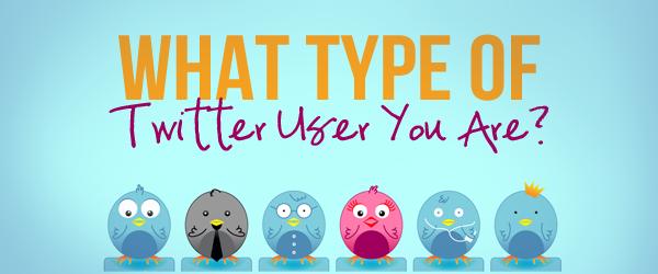 twitter user type