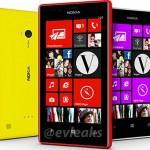 Nokia Lumia 720 evleaks