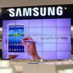 Samsung Galaxy Note 8 leaked booth Barcelona SLASHGEAR