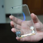 Transparent Smartphone Prototype by Polytron 01