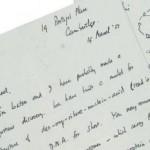 Francis Crick letter son