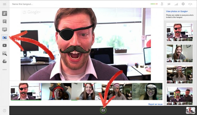 Hangouts Capture app