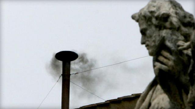 Vatican smoke signals