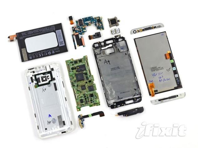 htc-one-teardown-and-repairability