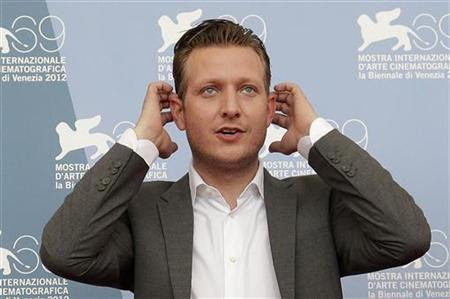 """Director Lindholm poses during the photocall of the movie """"Kapringen"""" at the 69th Venice Film Festival"""