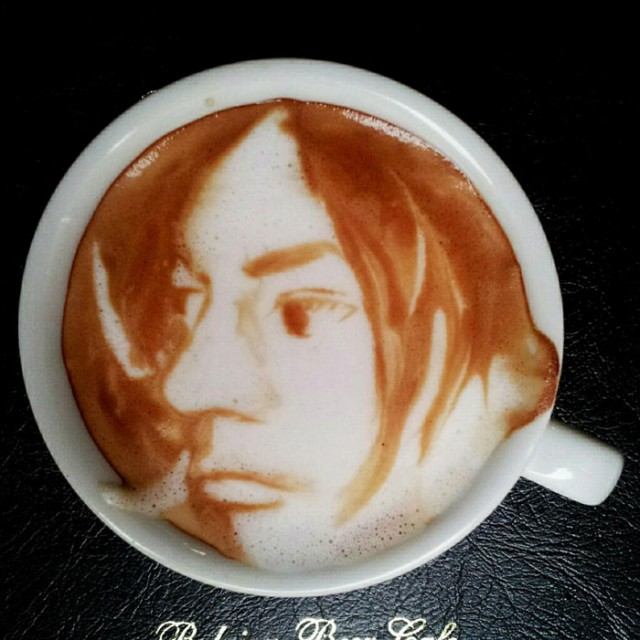 Kazuki Yamamoto - latte art - 02