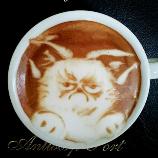 Kazuki Yamamoto - latte art - 03