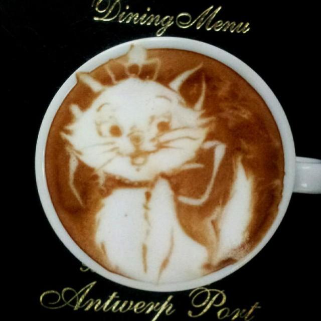 Kazuki Yamamoto - latte art - 12