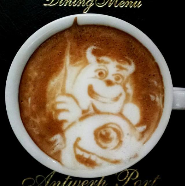 Kazuki Yamamoto - latte art - 13
