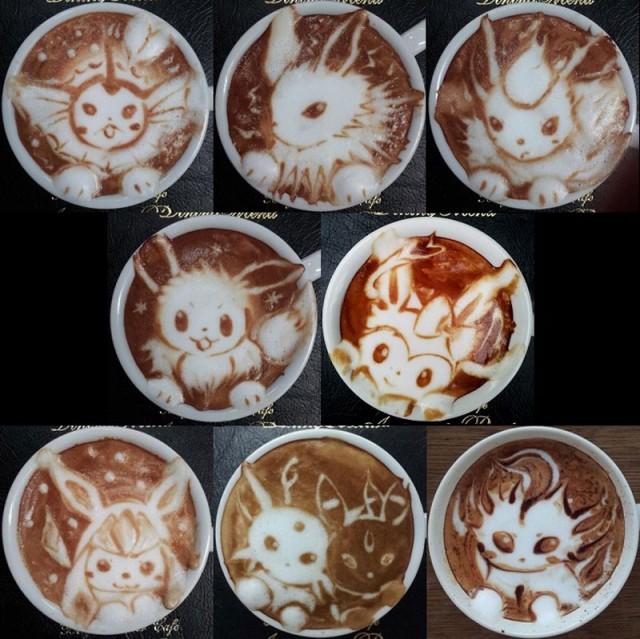 Kazuki Yamamoto - latte art - 15