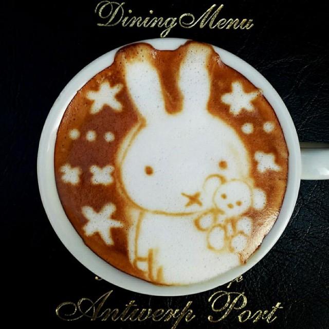Kazuki Yamamoto - latte art - 16