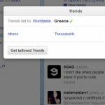 Twitter Greece Trends
