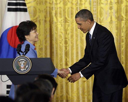 Barack Obama Park Geu-Hye