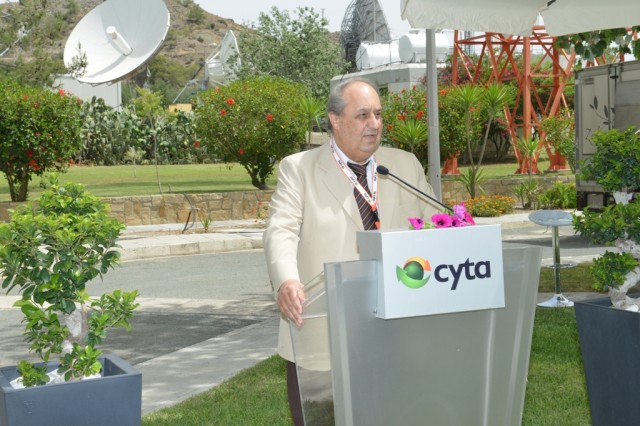 Ο Πρόεδρος του Συμβουλίου της Cyta κ. Στάθης Κιττής