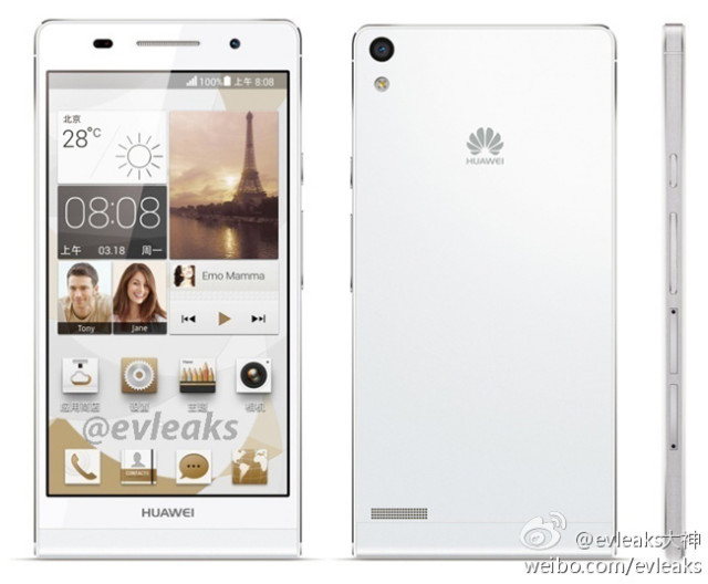 Huawei Ascend P6 leaked2
