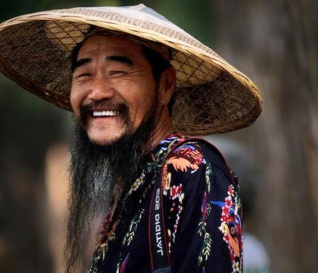 chinese smiling man
