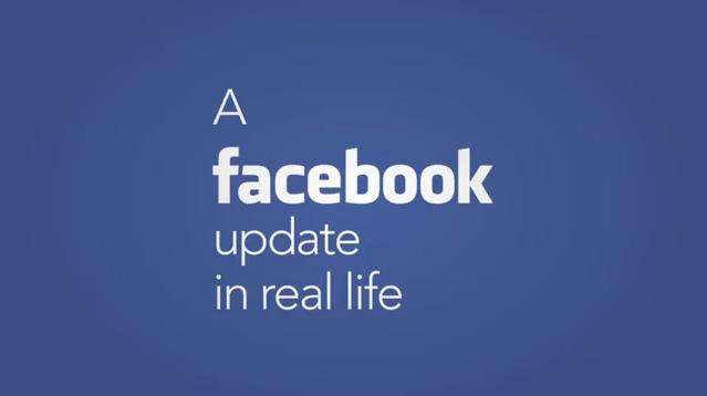 facebook update real life