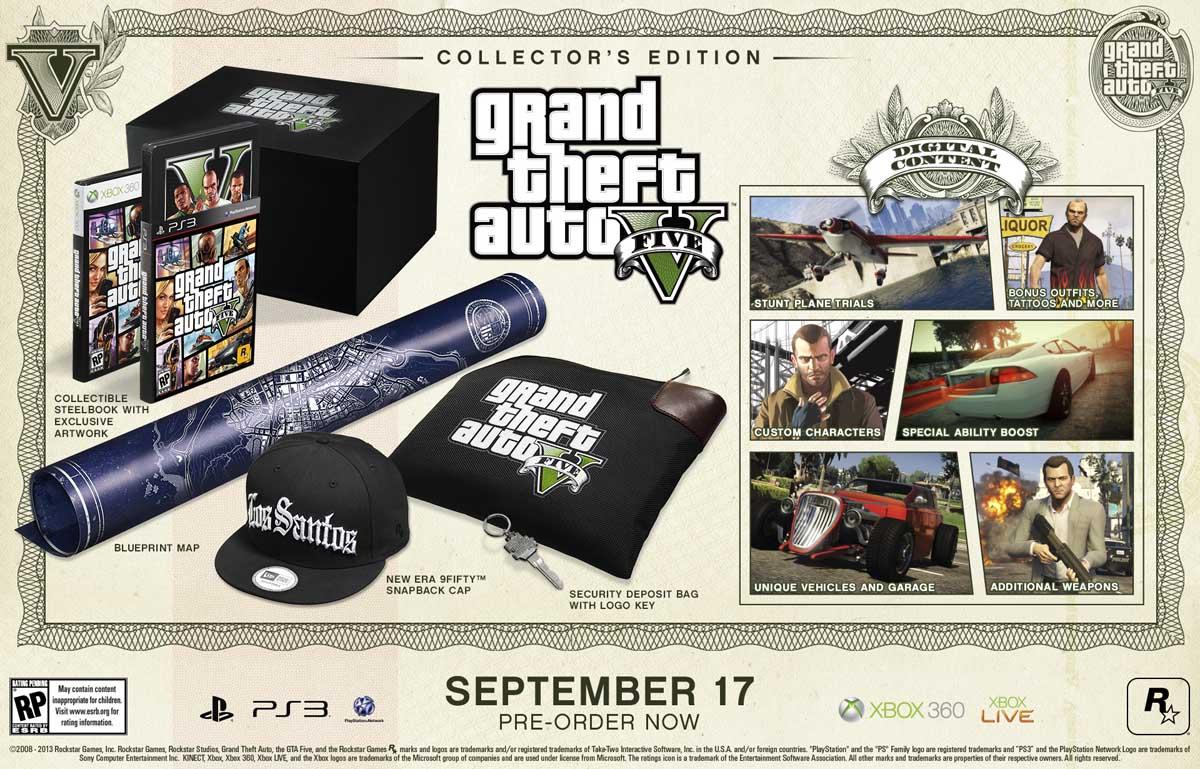 Η έκδοση του συλλέκτη περιέχει μέσα της όλη την Special Edition συν μια τσάντα ασφαλείας (με κλειδάκι), ένα καπελάκι και ακόμα περισσότερο in-game περιεχόμενο. Όλα αυτά μέσα σε ένα μαύρο ματ κουτί με το λογότυπο του παιχνιδιού.