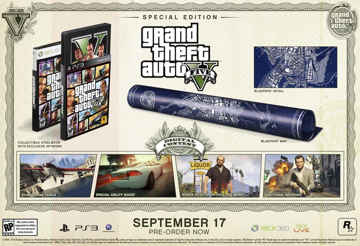 Η σπέσιαλ έκδοση περιέχει ένα μεταλλικό βιβλιαράκι με αποκλειστικό artwork, έναν προσχέδιο χάρτη του παιχνιδιού και έξτρα περιεχόμενο μέσα στο παιχνίδι.