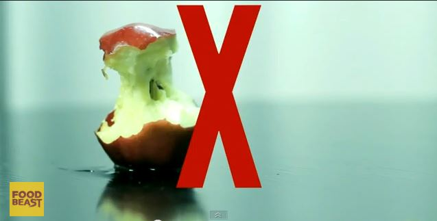 how to eat an apple like a boss