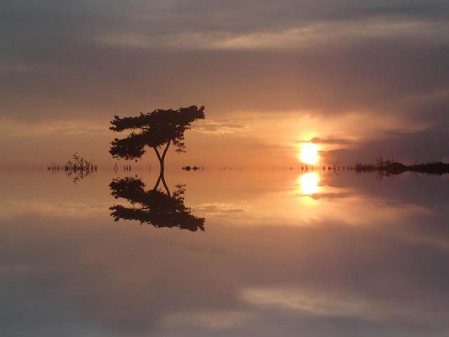 sunset paralimni cy