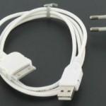 ChargingSetForIphone3G3GS4 White