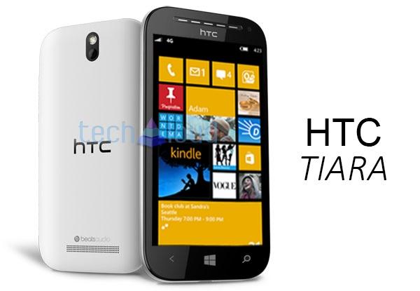 HTC Tiara leaked